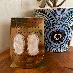 Kendra Scott Danielle Gold Ivory Pearl Earrings